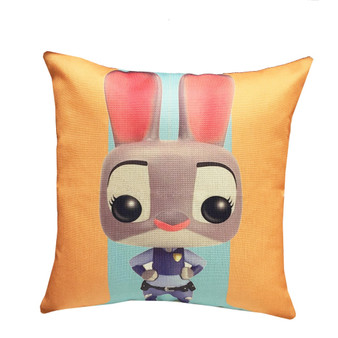Zootopia Inspired Design 17-inch Decorative Throw Cushion Case Pillow Cover