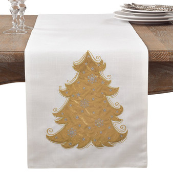 Fennco Styles Christmas Tree Design Cotton Collection