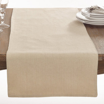Fennco Styles Brigitte Collection Classic Design Cotton Table Runner