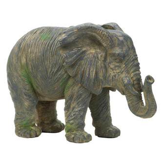 Fennco Styles Decoration Shabby Chic Large Elephant Statue