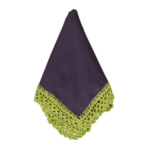 Sangita Crochet Lace Napkins, Set of 4
