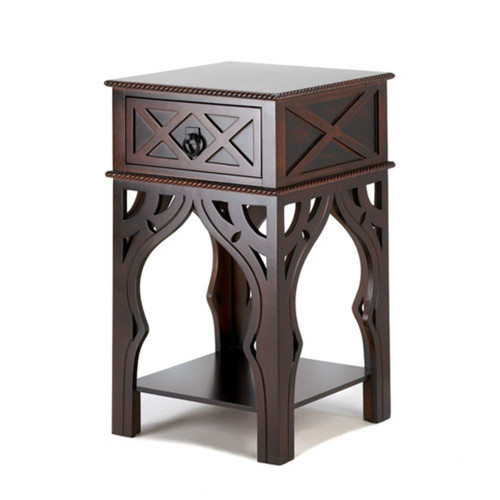 Fennco Styles Moroccan-Style End Table