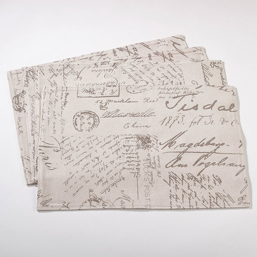 Old Fashioned Script Print Design Collection