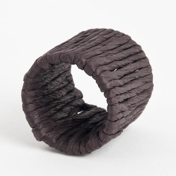 Raffia Napkin Rings, Set of 4