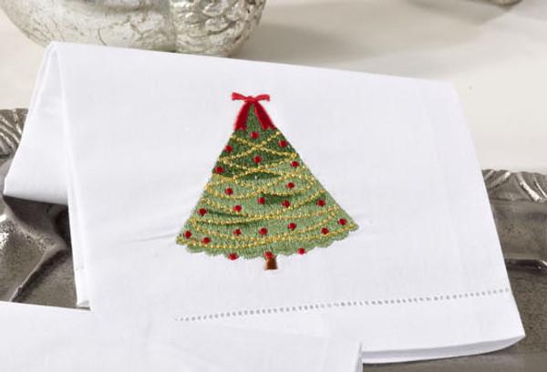 Style 1, Adorable Holiday Christmas Napkin, Set of 4