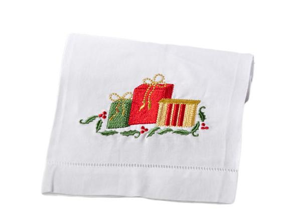 Style 3, Adorable Holiday Christmas Napkin, Set of 4
