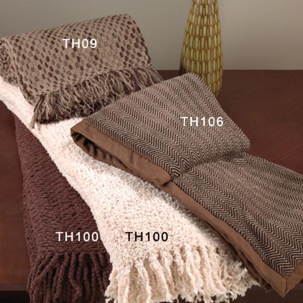 Basket Weave Design Throw Blanket