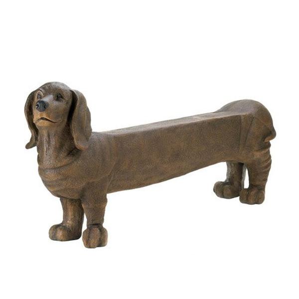 Fennco Styles Patio Garden Decoration Long Dog Bench