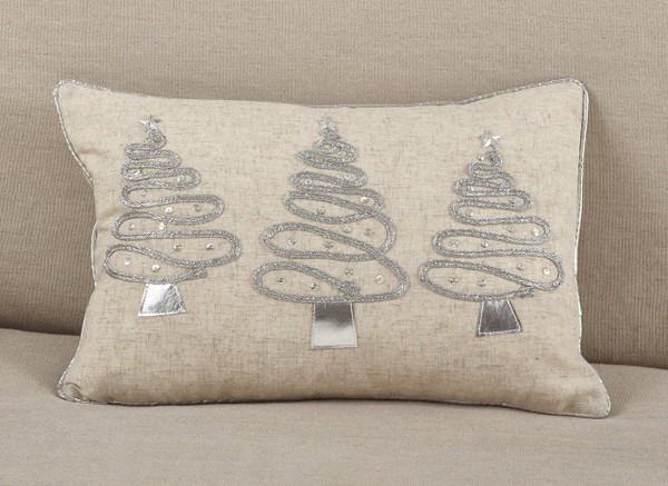 Fennco Styles Holiday Christmas Poly Filled Throw Pillow Collection