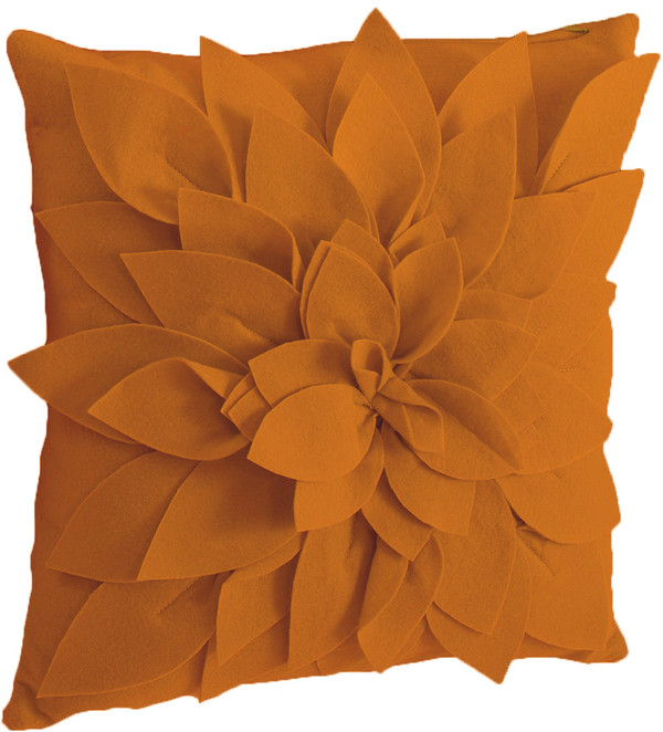 Sara's Garden Petal Decorative Throw Pillow