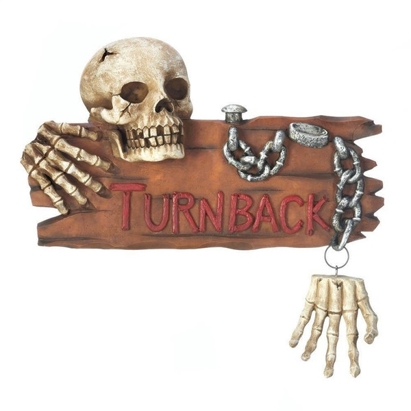 Fennco Styles Halloween Decorative Skeleton Door Knocker