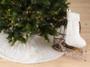 Noël Blanc Faux Fur Christmas Tree Skirt