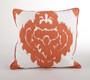 Odessa Damask Down Filled Decorative Throw Pillow