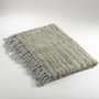 """Classic Knitted Throw Blanket, 50""""x60"""" (Tangerine)"""