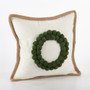 Fennco Styles Ricamato Collection Xmas Tree Throw Pillow- 2 Styles