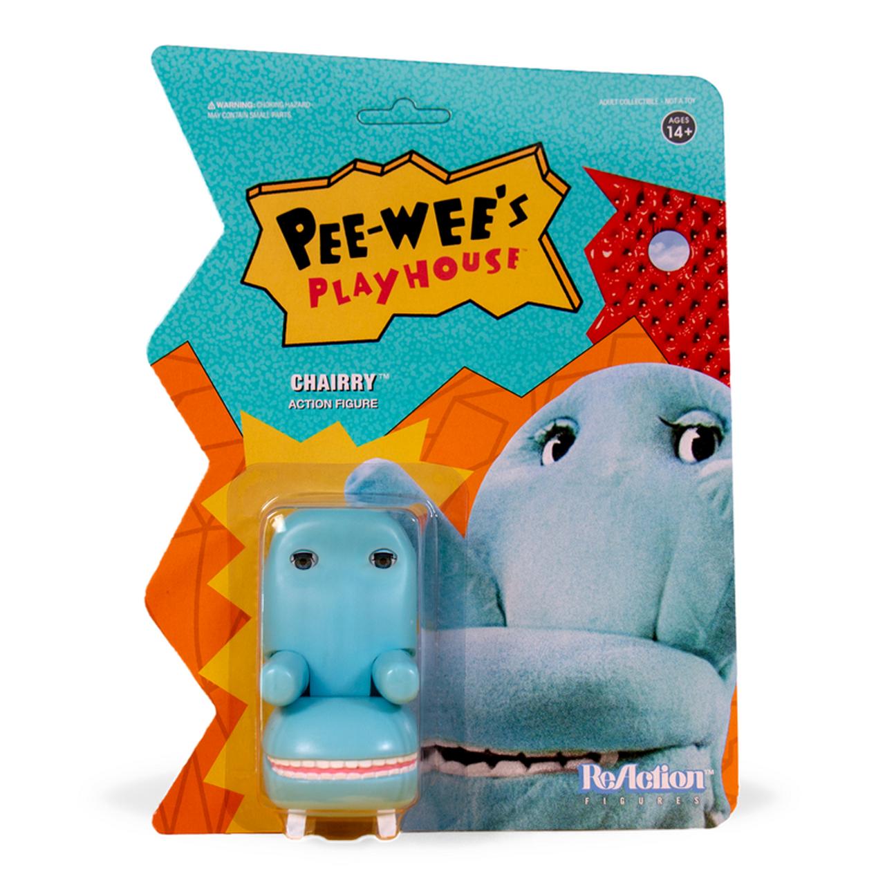 Super7 Pee Wee Herman Playhouse ReAction Action Figure Set Of 6 SALE!