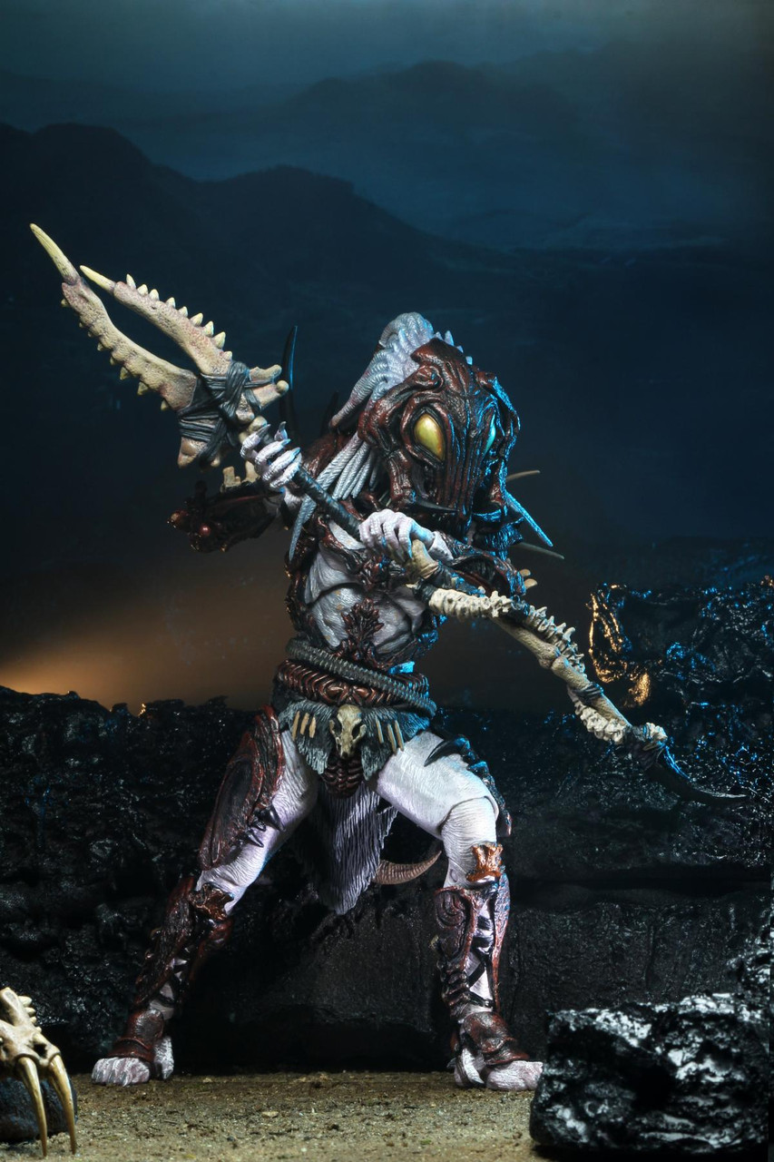 Predator-Ultimate Alpha 100th Edition 7 in Scale Action Figure environ 17.78 cm