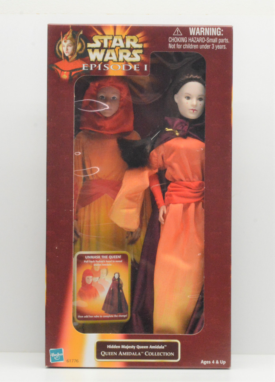 BOXED STAR WARS EPISODE 1 COLLECTION 1 QUEEN AMIDALA HASBRO ACTION FIGURE