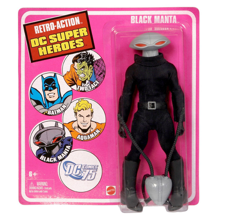 Mattel DC Universe Worlds Greatest Super Heroes Retro Series Black Manta