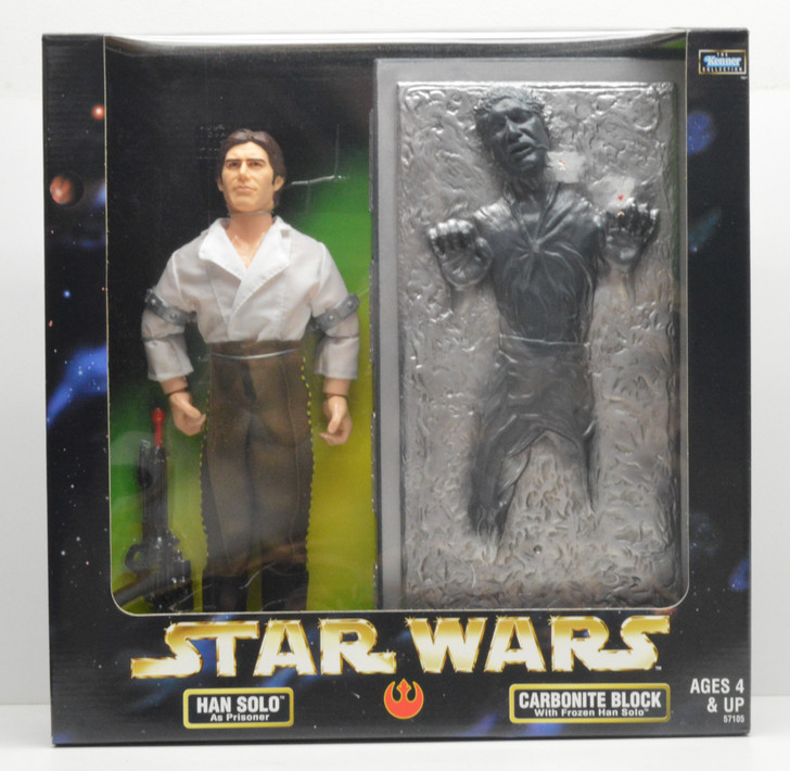 Kenner Star Wars Action Collection Han Solo and Carbonite Block