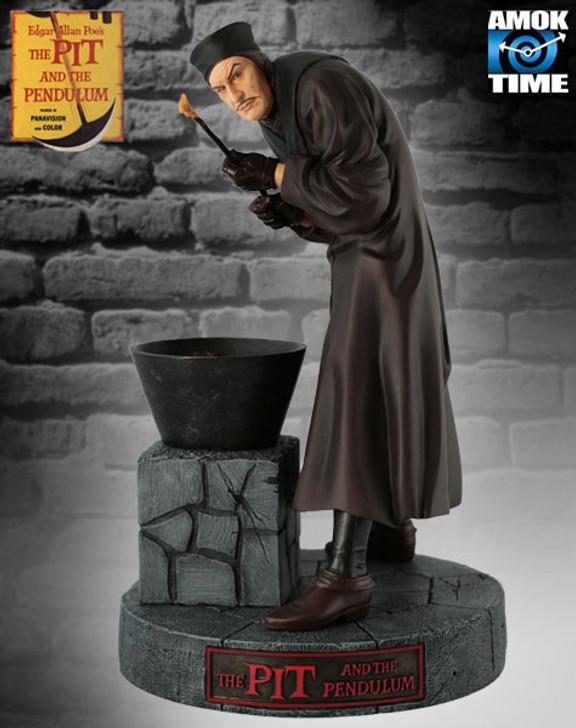 Monstarz Pit and the Pendulum Vincent Price Collectors Statue