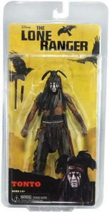 "NECA The Lone Ranger Series 1  Tonto Action Figure 7"""