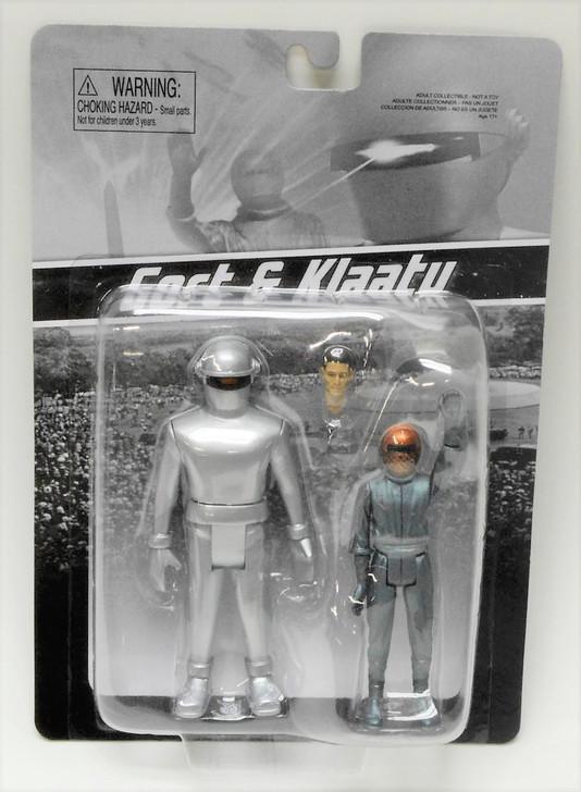 Monstarz The Day the Earth Stood Still Gort and Klaatu Retro Action Figure 2 pack