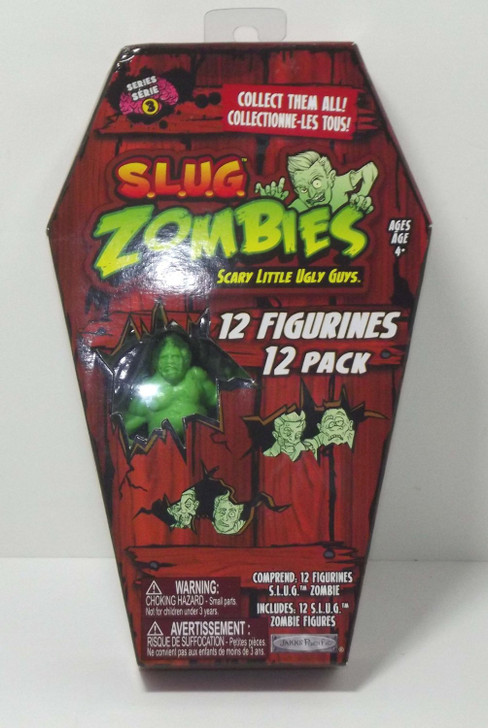 S.L.U.G. Zombies Coffin 12 figure pack series 3
