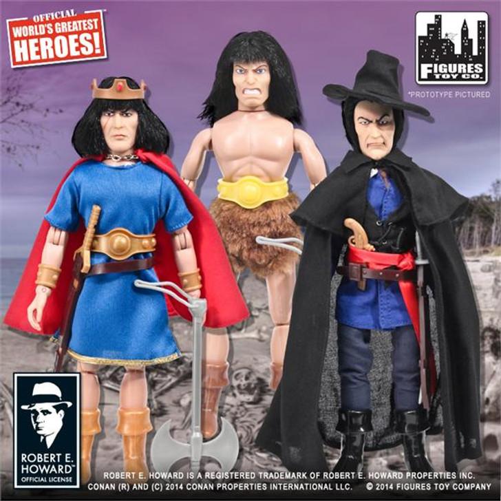Figures toy co.  Conan Retro 8in Set of 3