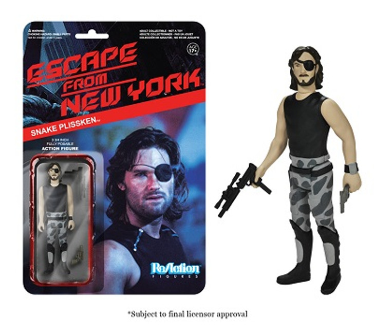 Funko Re-Action Escape from New York Snake Plissken Action Figure