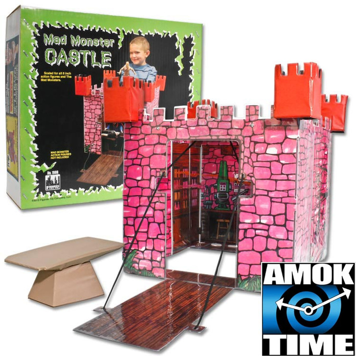 Mad Monster Retro Action Castle Playset