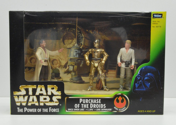 Kenner Star Wars Cinema Scenes Purchase of the Droids