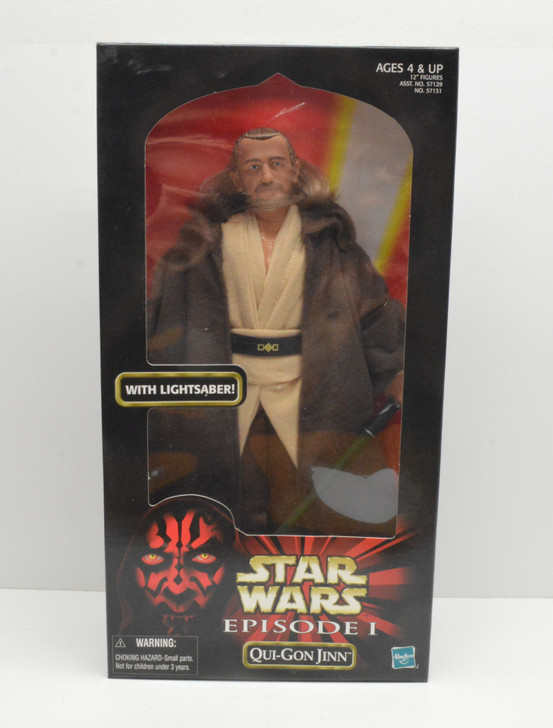 Hasbro Star Wars Action Collection Qui-Gon Jinn 12in Action Figure