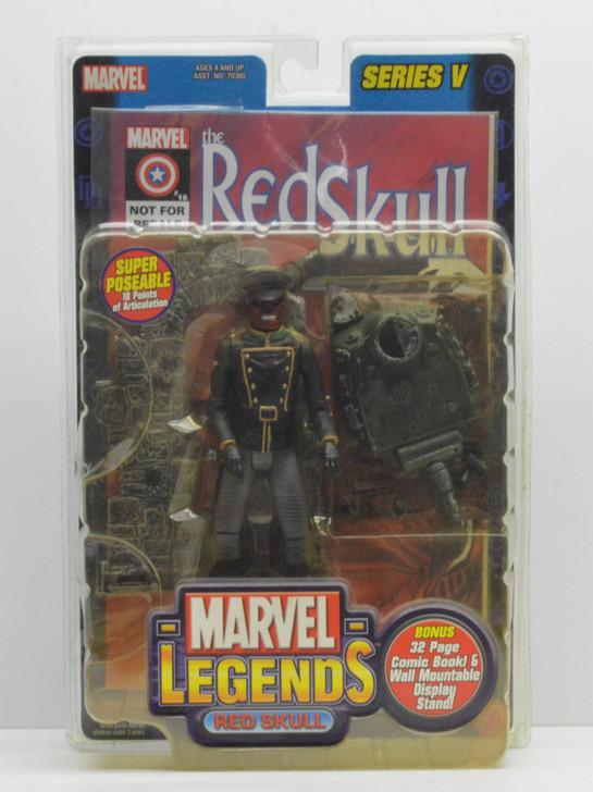 ToyBiz Marvel Legends Series V Red Skull Action Figure