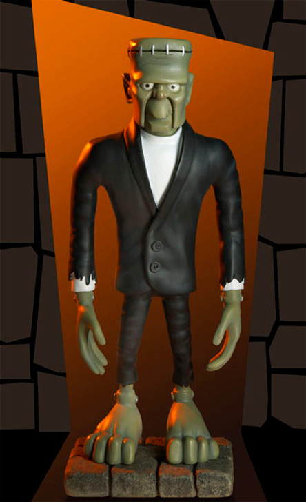 Monstarz Mad Monster Party Fang Maquette