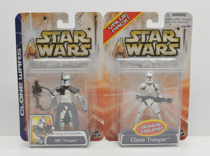 Star Wars Clone Wars Value Pack ARC Trooper and Clone Trooper