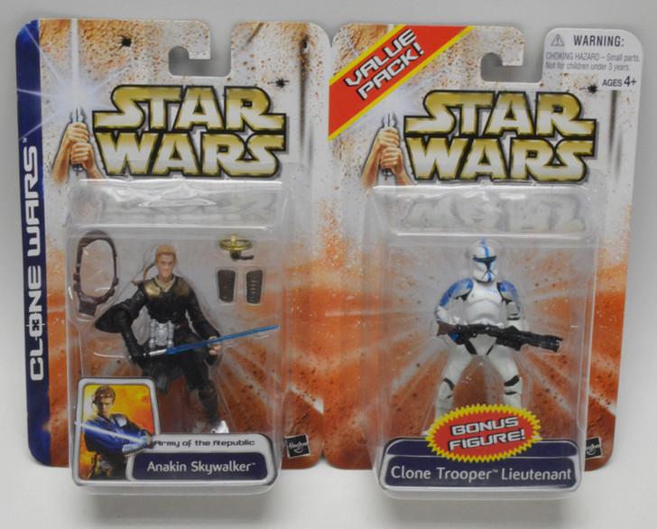 Star Wars Clone Wars Value Pack Anakin Skywalker and Clone Trooper