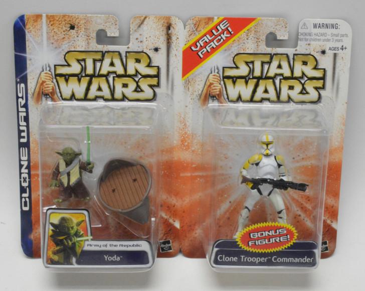Star Wars Clone Wars Value Pack Yoda and Clone Trooper