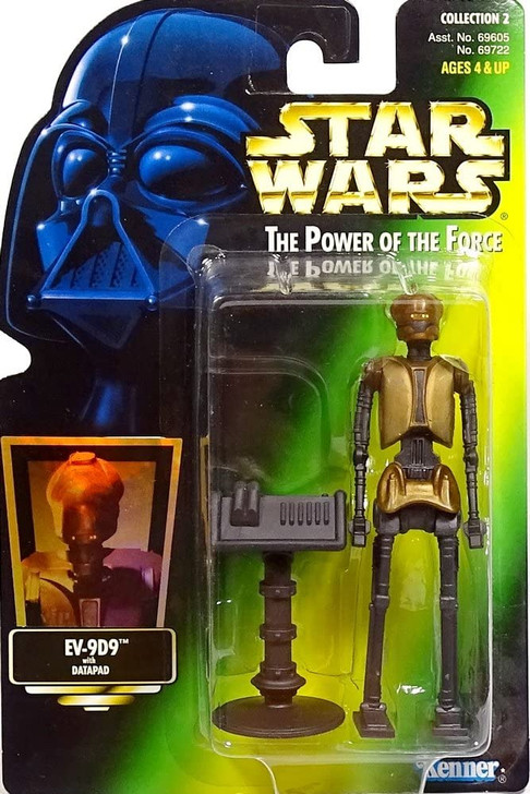 Kenner Star Wars Power of the Force EV-9D9 Action Figure