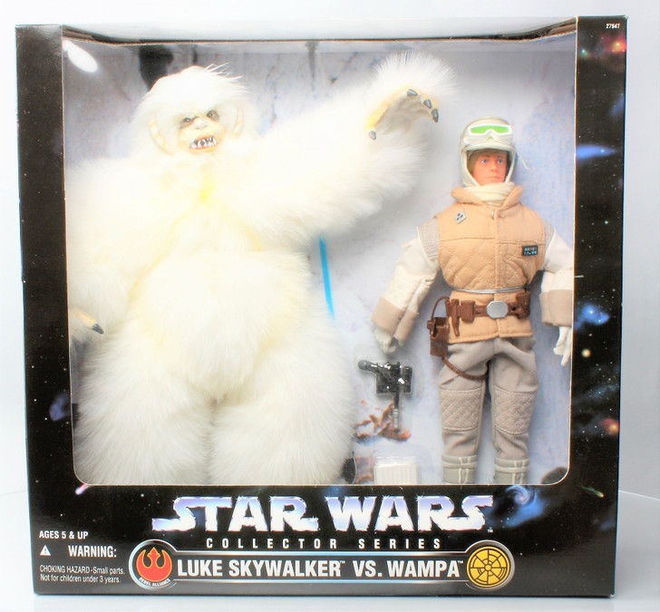 Kenner Star Wars Action Collection Luke and Wampa 12in Figure Set