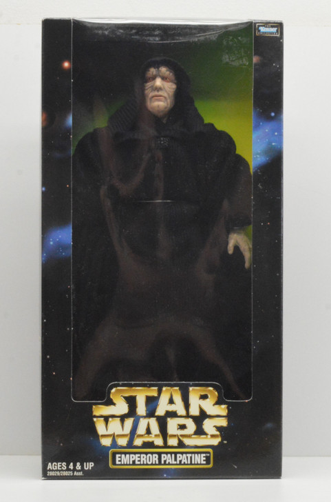 """Kenner Star Wars Action Collection Emperor Palpatine 12"""" Figure"""