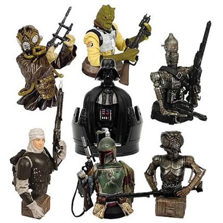 Star Wars Bust Ups Bounty Hunter Set