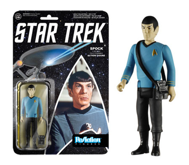 Funko ReAction Star Trek Classic Spock Action Figure