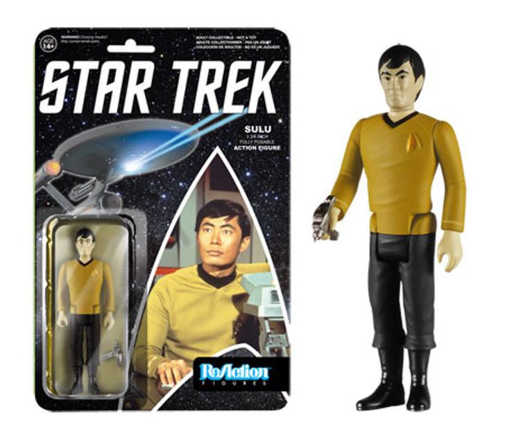 Funko ReAction Star Trek Classic Sulu Action Figure