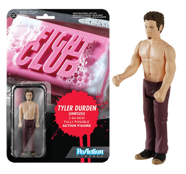 Funko ReAction Fight Club Tyler No Shirt