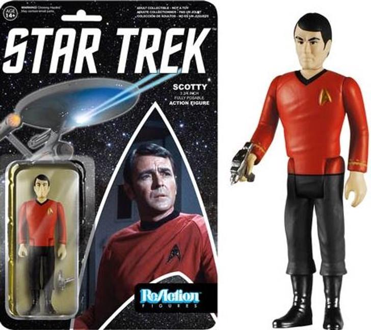 Funko ReAction Star Trek Classic Scotty Action Figure
