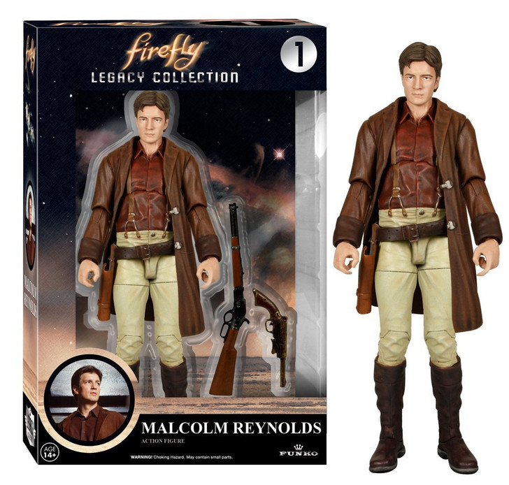 Firefly Legacy Malcolm Reynolds Action Figure