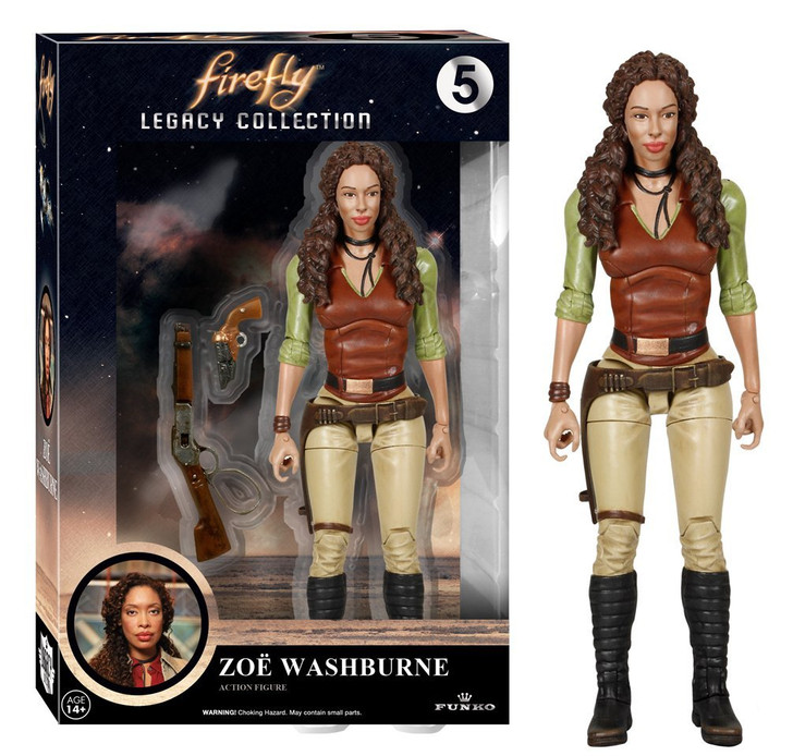 Firefly Legacy Zoe Washburne Action Figure