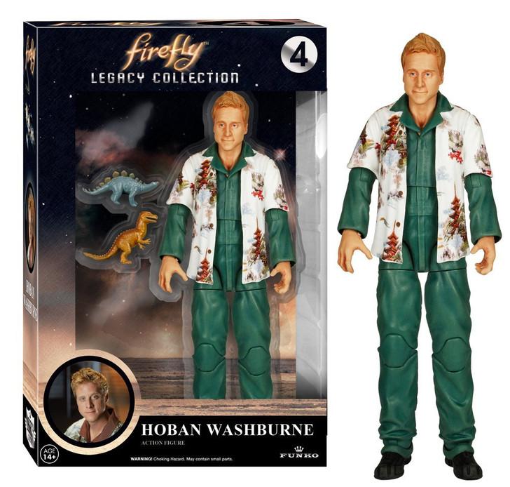 Firefly Legacy Hoban Washburne Action Figure