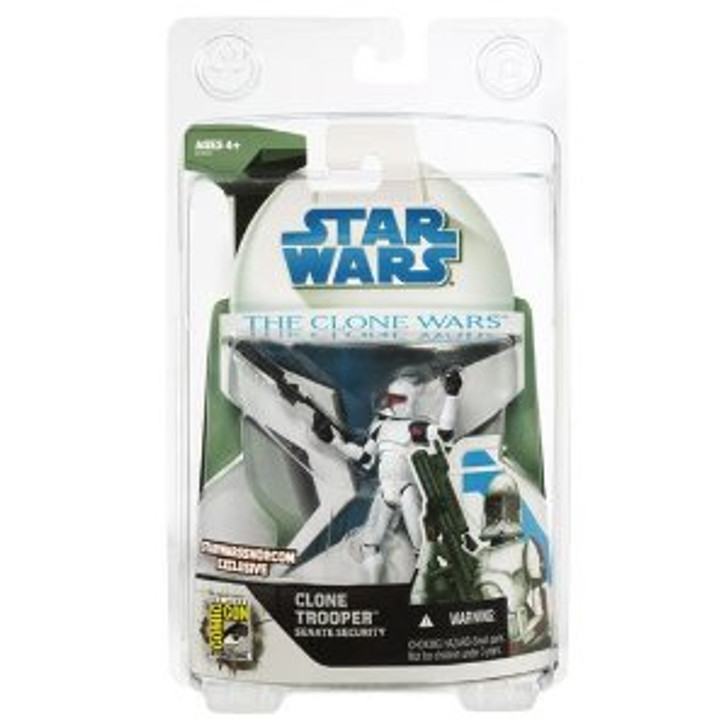 Star Wars The Clone Wars Clone Trooper Senate Security Action Figure